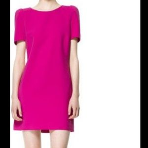 Zara Shoulder Pad Dress